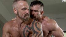 Two Men Kiss - Dallas Steele & Liam Knox