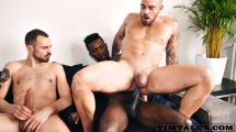 Damien Crosse - 3some with Devon Lebron & Koldo