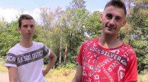 Czech Hunter 314 - Czech footballers bareback on cam
